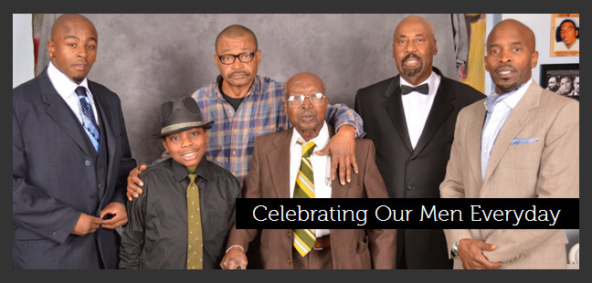 Celebrating Our Men Everyday group photo